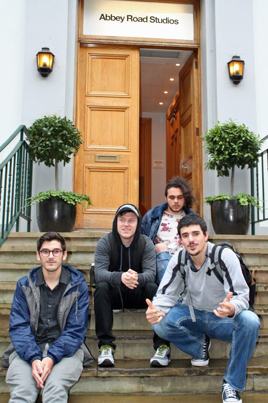 Phantom Phunk Abbey Road Studios